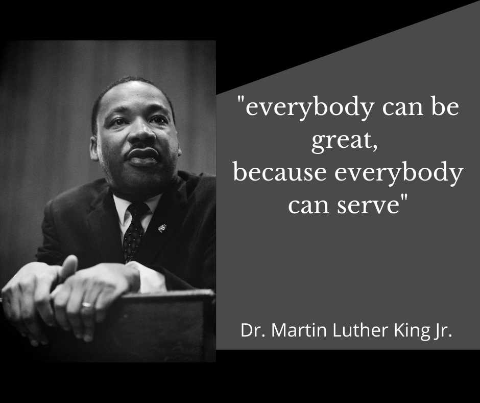 Everybody can be great